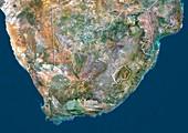 South Africa,satellite image