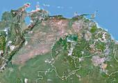 Venezuela,satellite image