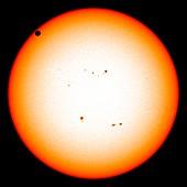 Transit of Venus,5-6 June 2012