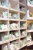 Prescriptions awaiting collection