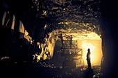 Slate mining
