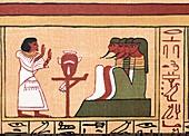 Ani addressing four gods