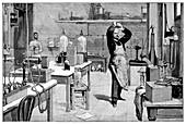 Toxicology laboratory,1893
