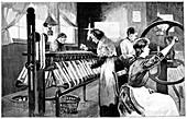 Spitalfields silk industry,1893