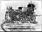 Electric fire-fighting vehicle,1893