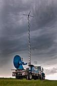 Storm chasing,South Dakota,USA