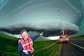 Storm chasing,Nebraska,USA
