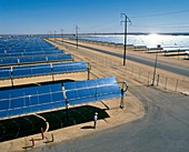 SEGS solar power plant,California,USA