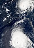 Hurricanes Gordon and Helene,2006
