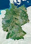 Germany,satellite image