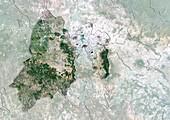 Mexico State,Mexico,satellite image