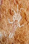 Rock painting,Algerian Sahara