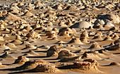 Rock formations,Egyptian Sahara
