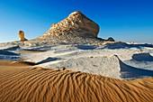 Rock formations,Egypt's White Desert