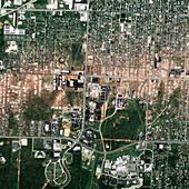 Tornado damage,Joplin,USA