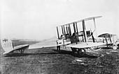 British BE2a fighter plane,World War I