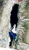 Dead Sea,2011 satellite image
