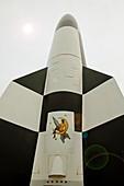 V-2 rocket missile,Peenemunde Museum