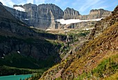 Grinnell Glacier,Montana,USA,in 2008
