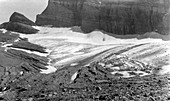 Grinnell Glacier,Montana,USA,in 1936