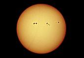 Sunspots,optical image