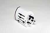 Plug adapter with UK prongs