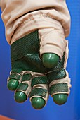 Russian spacesuit glove