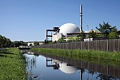 Brokdorf nuclear power station,Germany