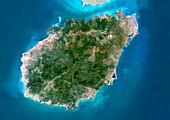 Hainan,China,satellite image
