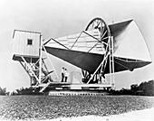 ECHO horn antenna,1962