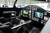 Lynx spaceplane interior