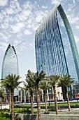 Boulevard Plaza skyscrapers,Dubai