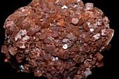 Aragonite crystals