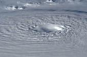 Typhoon Bopha,ISS image