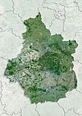 Centre region,France,satellite image