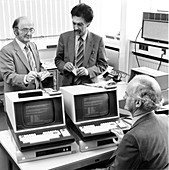Smart card research,1982