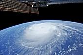 Hurricane Katia,ISS image