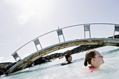 Blue Lagoon geothermal spa,Iceland