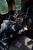 Steam locomotive driver