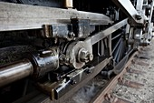 Steam locomotive drive shaft