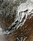 Lake Baikal,Russia,satellite image