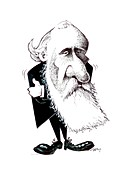 Lord Kelvin,caricature