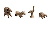 Terracotta animal figurines
