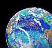 Indian Ocean,chlorophyll concentration
