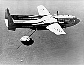 Fairchild C-119 capsule recovery,1960s