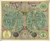 Celestial planispheres,1772