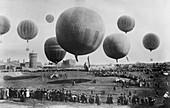 Berlin Balloon Race,1908