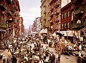 Mulberry Street,New York,circa 1900