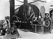 Corliss steam engine,circa 1900