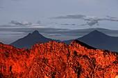 Nyiragongo volcano,Congo
